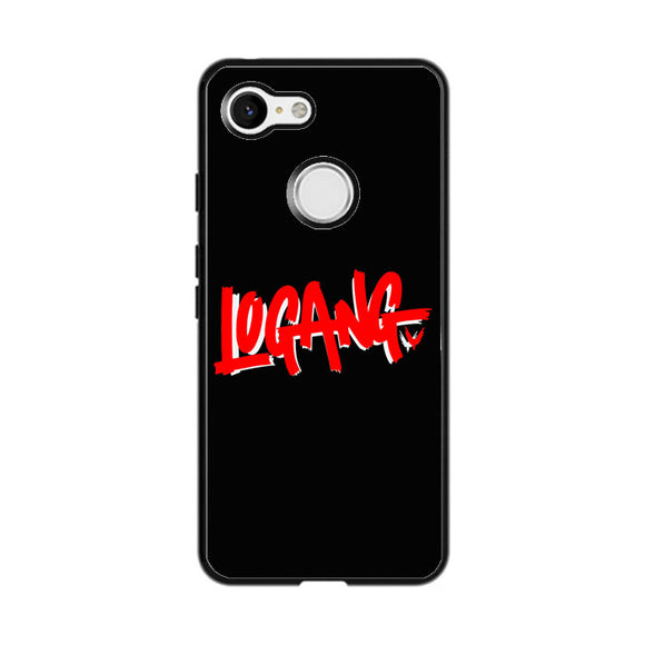 Logang Red Google Pixel 3 Case | Frostedcase