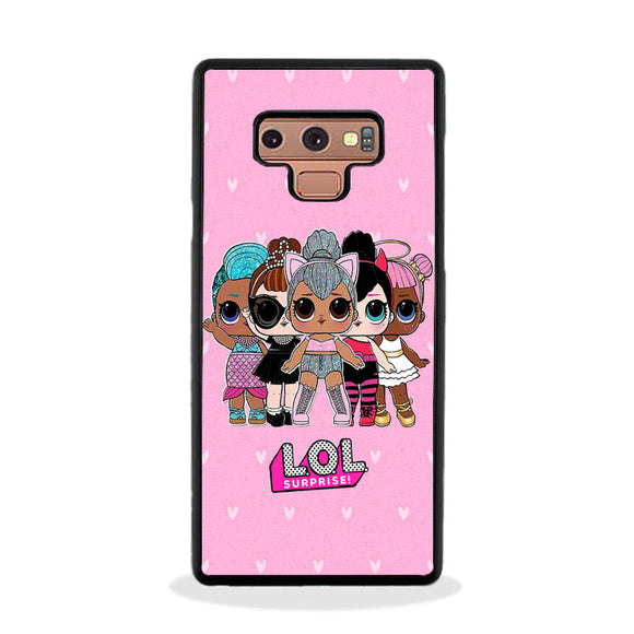 Lol Surprise Rear Dance Love Samsung Galaxy Note 9 Case | Frostedcase