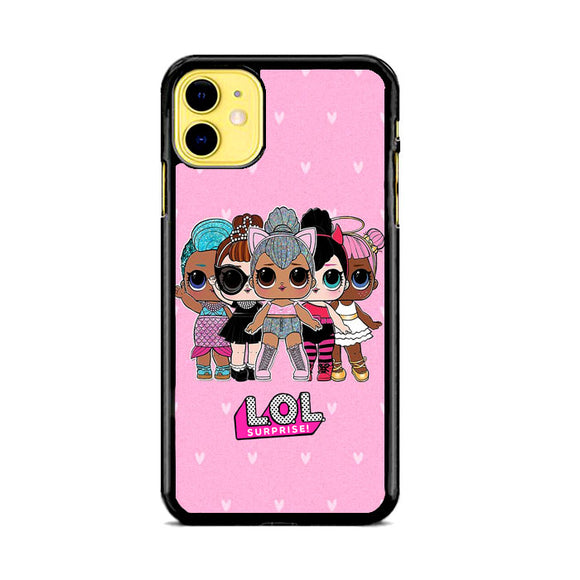 Lol Surprise Rear Dance Love iPhone 11 Case | Frostedcase