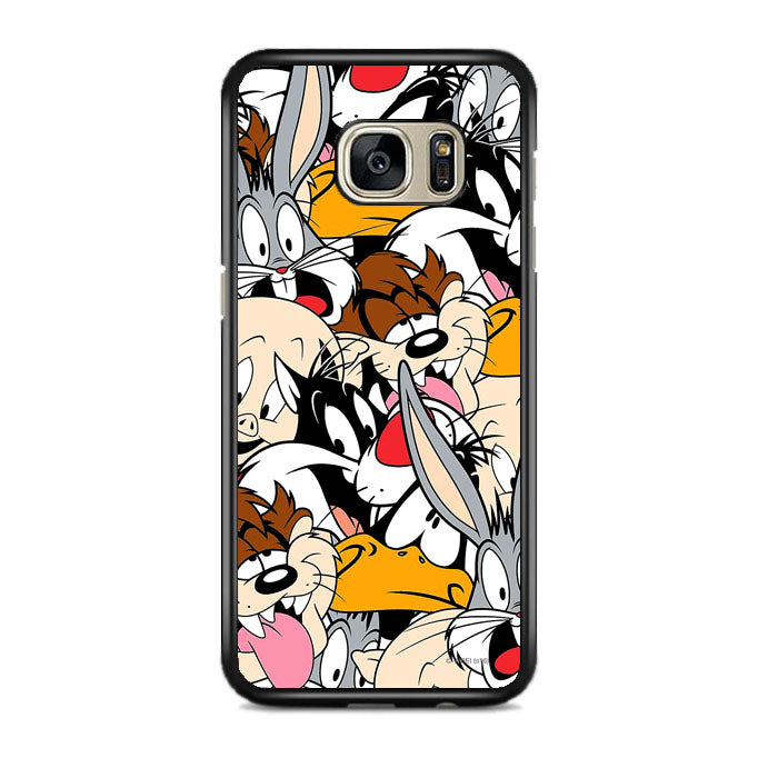 Looneytoons Face Doodle Samsung Galaxy S7 EDGE Case | Frostedcase