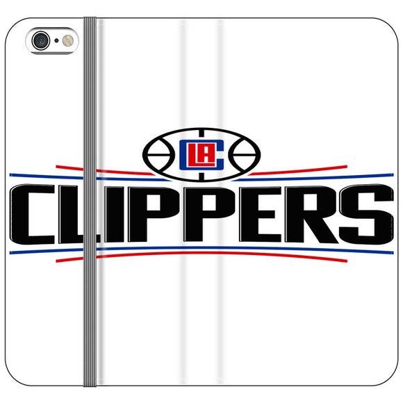 Los Angeles Clippers New Logo iPhone 6 Plus|6S Plus Flip Case | Frostedcase