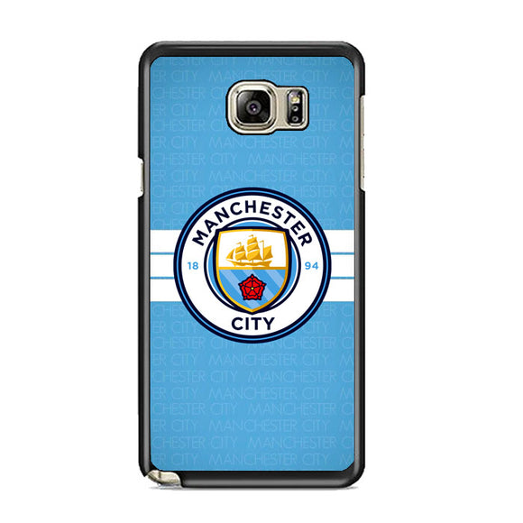 Manchester City Logo Samsung Galaxy Note 5 Case | Frostedcase