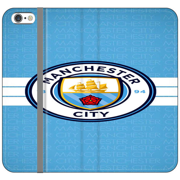 Manchester City Logo iPhone 6 Plus|6S Plus Flip Case | Frostedcase