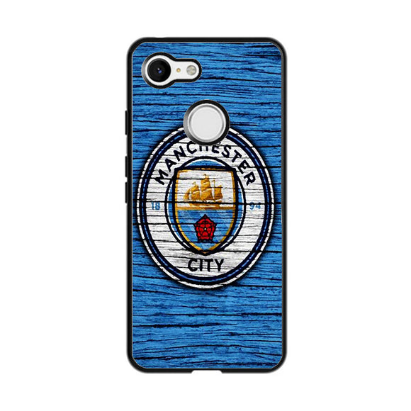 Manchester City Wooden Art Google Pixel 3 Case | Frostedcase