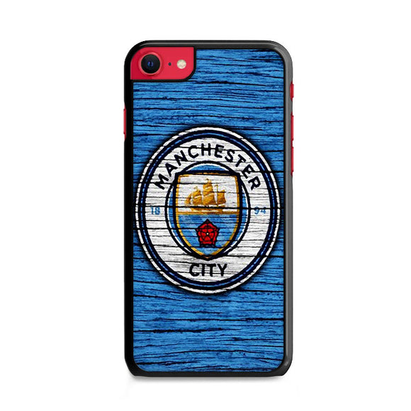 Manchester City Wooden Art iPhone SE Case | Frostedcase