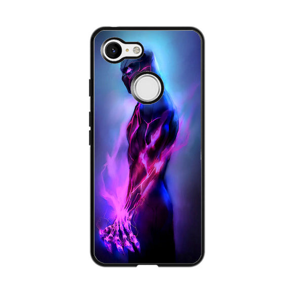 Marvel Black Panther Fire Google Pixel 3 Case | Frostedcase