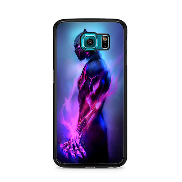 Marvel Black Panther Fire Samsung Galaxy S6 Case | Frostedcase