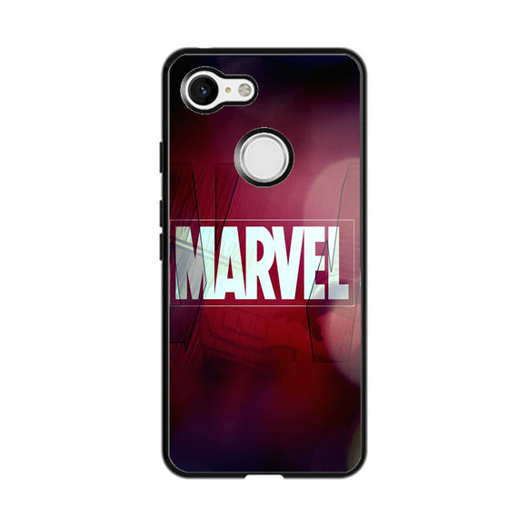 Marvel Logo Film Art Ilustation Google Pixel 3 Case | Frostedcase