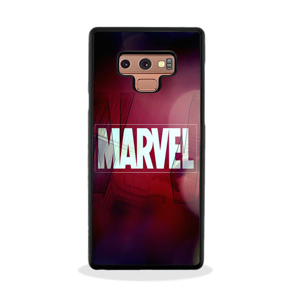 Marvel Logo Film Art Ilustation Samsung Galaxy Note 9 Case | Frostedcase
