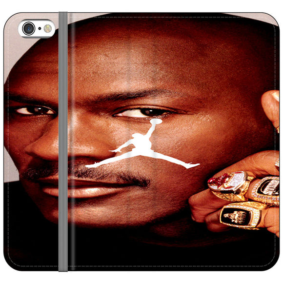 Michael Jordan iPhone 6 Plus|6S Plus Flip Case | Frostedcase