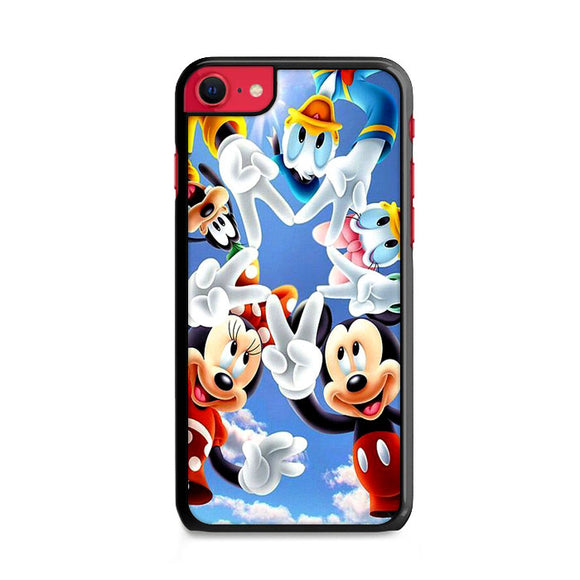 Mickey Mouse And Friends Peace Star iPhone SE Case | Frostedcase