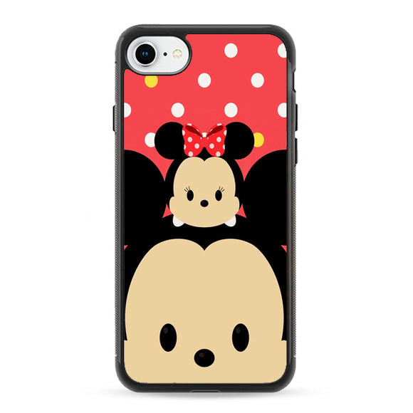 Mickey And Minnie Mouse Tsum-Tsum iPhone 8 Case | Frostedcase