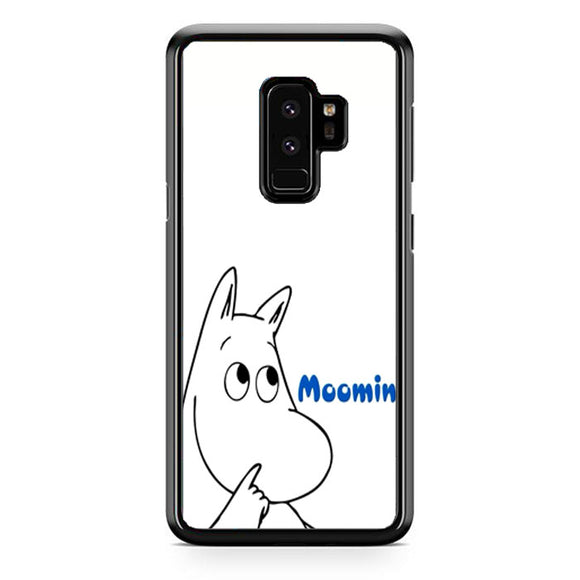 Moomin White Samsung Galaxy S9 Plus Case | Frostedcase