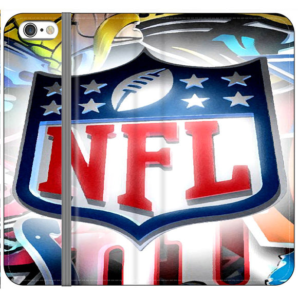 National Football League Art Drawing iPhone 6 Plus|6S Plus Flip Case | Frostedcase
