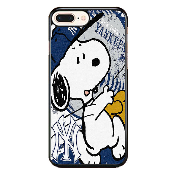New York Yankees Snoopy iPhone 8 Plus Case | Frostedcase