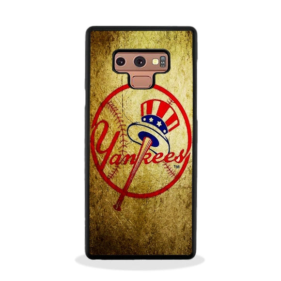 New York Yankees Vintage Art Samsung Galaxy Note 9 Case | Frostedcase