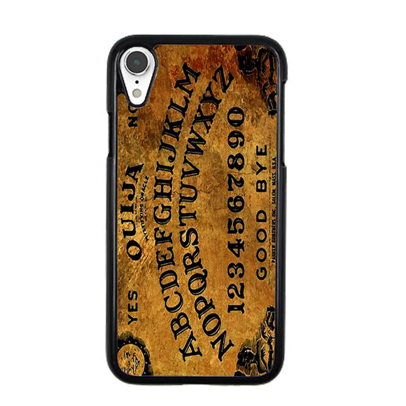 Ouija Alfabet Vintage iPhone XR Case | Frostedcase
