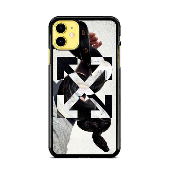 Off White Hand Of Snake iPhone 11 Case | Frostedcase
