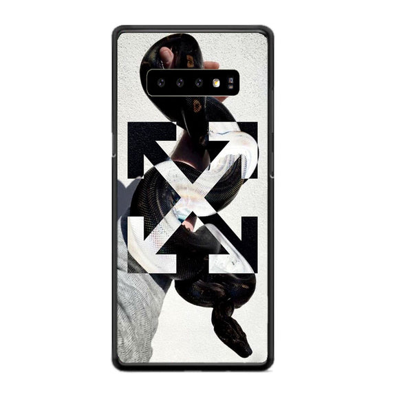 Off White Hand Of Snake Samsung Galaxy S10 Case | Frostedcase
