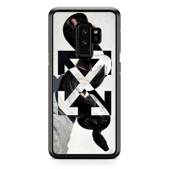 Off White Hand Of Snake Samsung Galaxy S9 Plus Case | Frostedcase