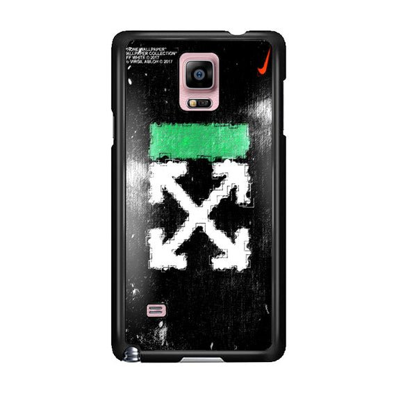 Off White Ice Glass Green Samsung Galaxy Note 4 Case | Frostedcase