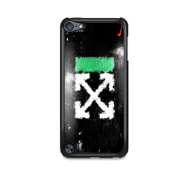 Off White Ice Glass Green iPod 5 Case | Frostedcase