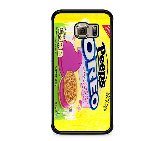 Oreo Peeps Sandwich Cookies Samsung Galaxy S6 EDGE Case | Frostedcase