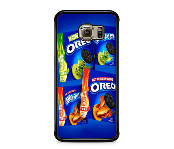 Oreo Wasabi And Hot Chcken Wing Le Samsung Galaxy S6 EDGE Case | Frostedcase