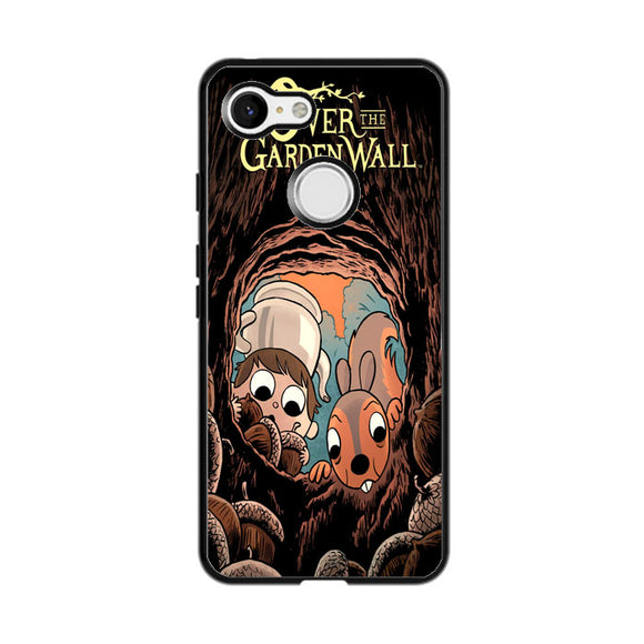 Over The Garden Wall Squirrel And Walnuts Google Pixel 3 Case | Frostedcase