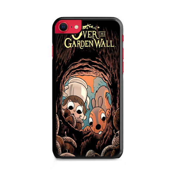 Over The Garden Wall Squirrel And Walnuts iPhone SE Case | Frostedcase