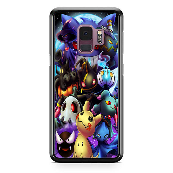 Pokemon Ghosts Samsung Galaxy S9 Case | Frostedcase