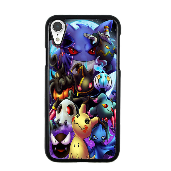 Pokemon Ghosts iPhone XR Case | Frostedcase