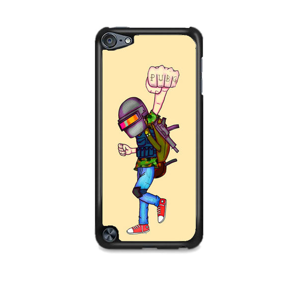 Pubg Traveling Art iPod 5 Case | Frostedcase