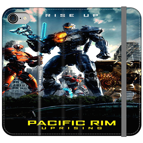 Pacific Rim Uprising 2018 Movie Poster iPhone 8 Flip Case | Frostedcase