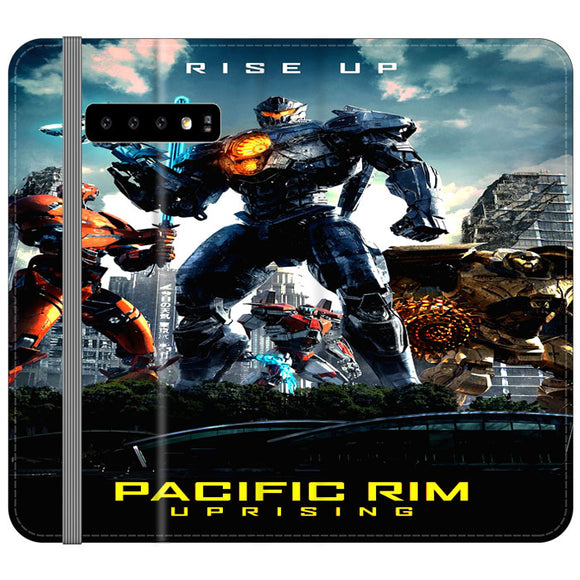 Pacific Rim Uprising 2018 Movie Poster Samsung Galaxy S10 Flip Case | Frostedcase