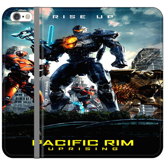Pacific Rim Uprising 2018 Movie Poster iPhone 6 Plus|6S Plus Flip Case | Frostedcase