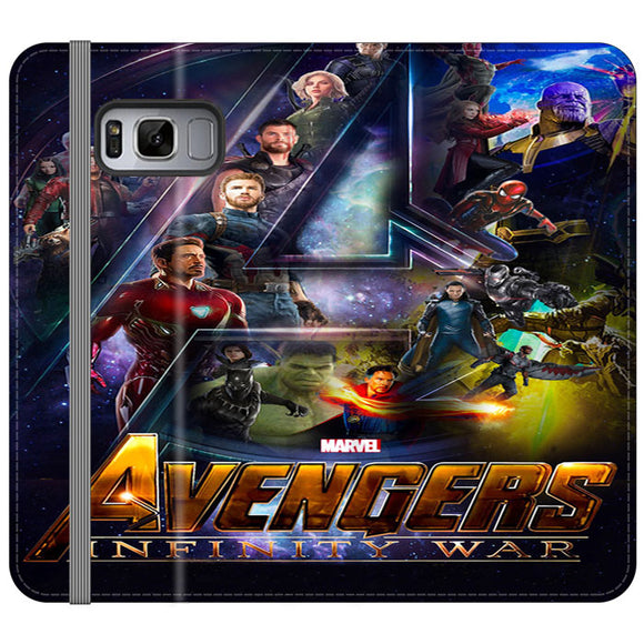 Pacific Rim Uprising 2018 Movie Samsung Galaxy S8 Flip Case | Frostedcase