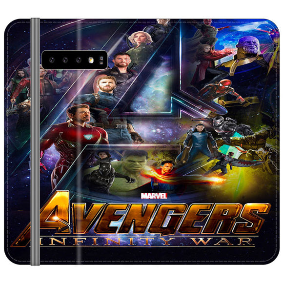 Pacific Rim Uprising 2018 Movie Samsung Galaxy S10 Flip Case | Frostedcase