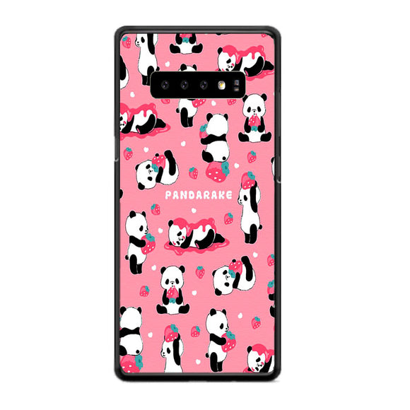 Pandarake Strawberry Jam Samsung Galaxy S10 Case | Frostedcase