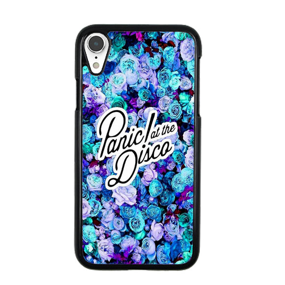 Panic At The Disco Rose Blue Art iPhone XR Case | Frostedcase