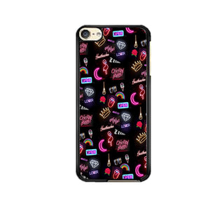 Pattern Neon Summer Aksesoris Collection iPod 6 Case | Frostedcase
