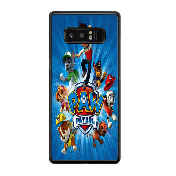 Paw Patrol Samsung Galaxy Note 8 Case | Frostedcase