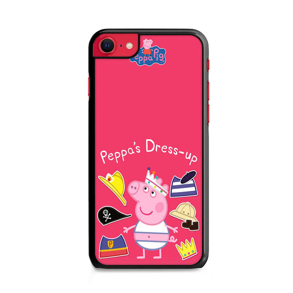 Peppa Pig Dress Up Sticker iPhone SE Case | Frostedcase