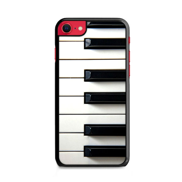 Piano Keyboard iPhone SE Case | Frostedcase