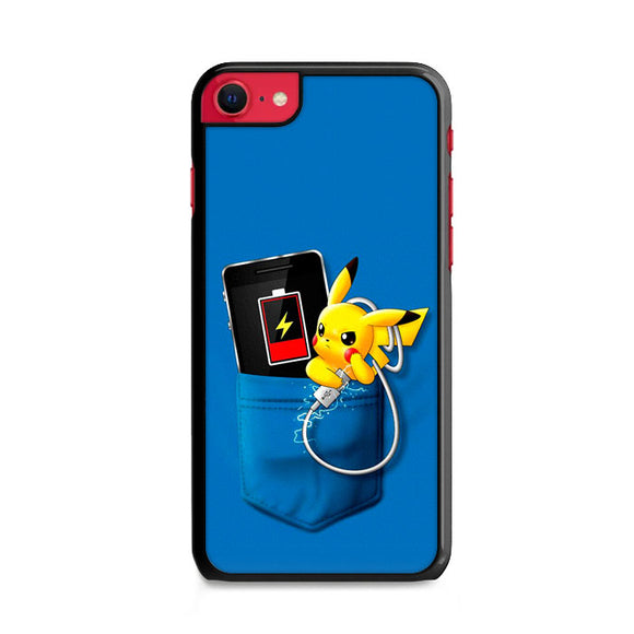 Pikachu Charger In The Pocket iPhone SE Case | Frostedcase