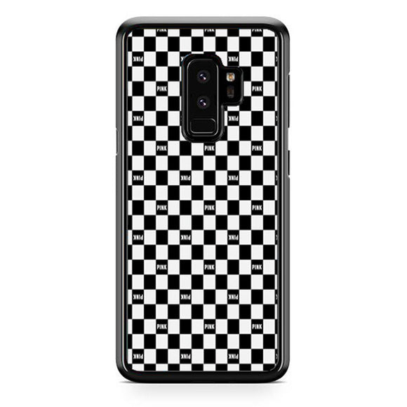 Pink Nat Square Black White Samsung Galaxy S9 Plus Case | Frostedcase
