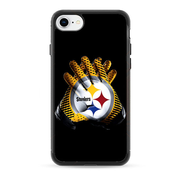 Pittsburgh Steelers Glove Logo iPhone 8 Case | Frostedcase