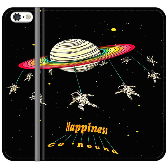 Planet Happiness Go Round iPhone 6 Plus|6S Plus Flip Case | Frostedcase