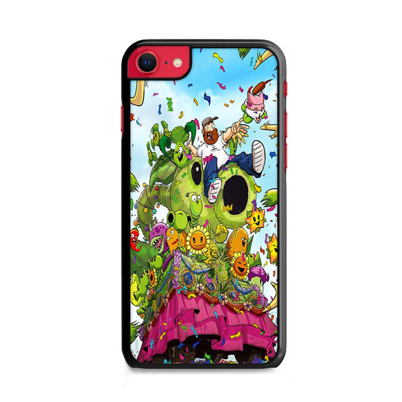 Plants Vs Zombie All Character Festival iPhone SE Case | Frostedcase