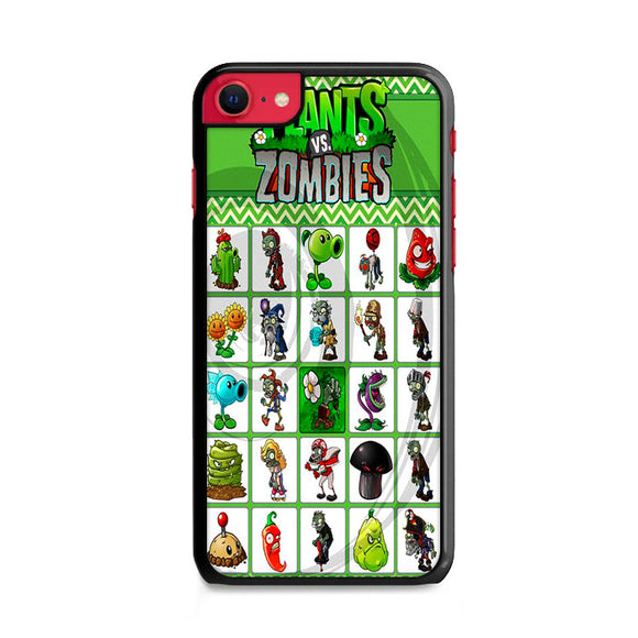 Plants Vs Zombies Character Board iPhone SE Case | Frostedcase